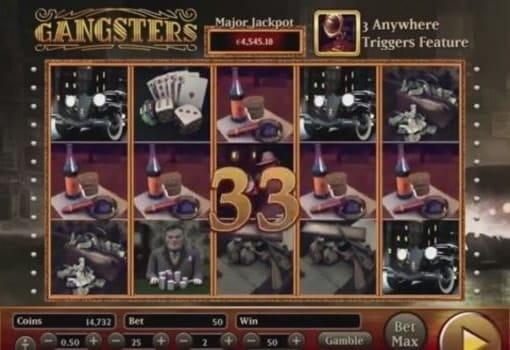 Игровые автоматы на реальные деньги с выводом - Gangsters