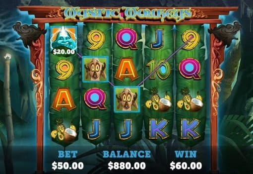 Игровые автоматы на реальные деньги с выводом - Mystic Monkeys