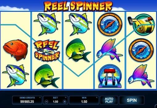 Игровые автоматы на реальные деньги с выводом – Reel Spinner