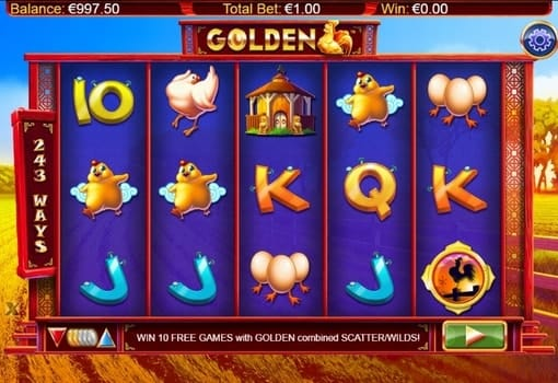 Игровые автоматы с реальным выводом денег - Golden Hen