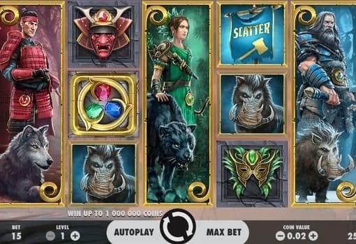 Игровые автоматы с выводом денег Warlords – Crystals of Power